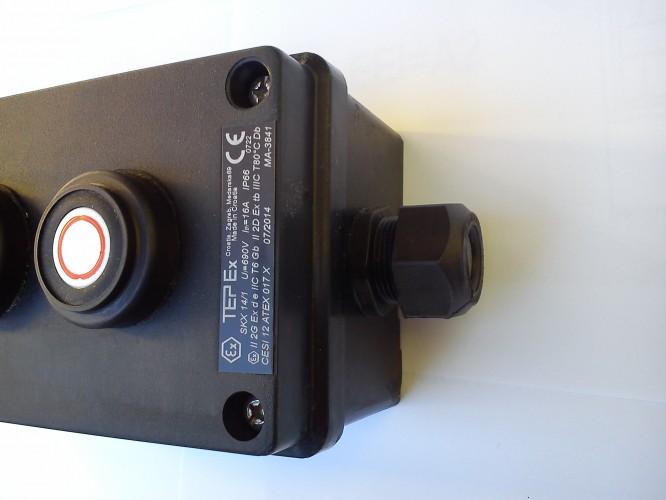 Kaseta przeciwwybuchowa SKX 14/1 START STOP LAMPKA