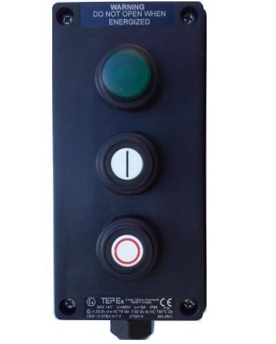 Kaseta przeciwwybuchowa Ex START STOP LAMPKA SKX 14 1