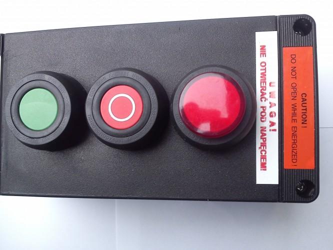 Kaseta przeciwwybuchowa START STOP LAMPKA sterownicza Ex ADV0240 3